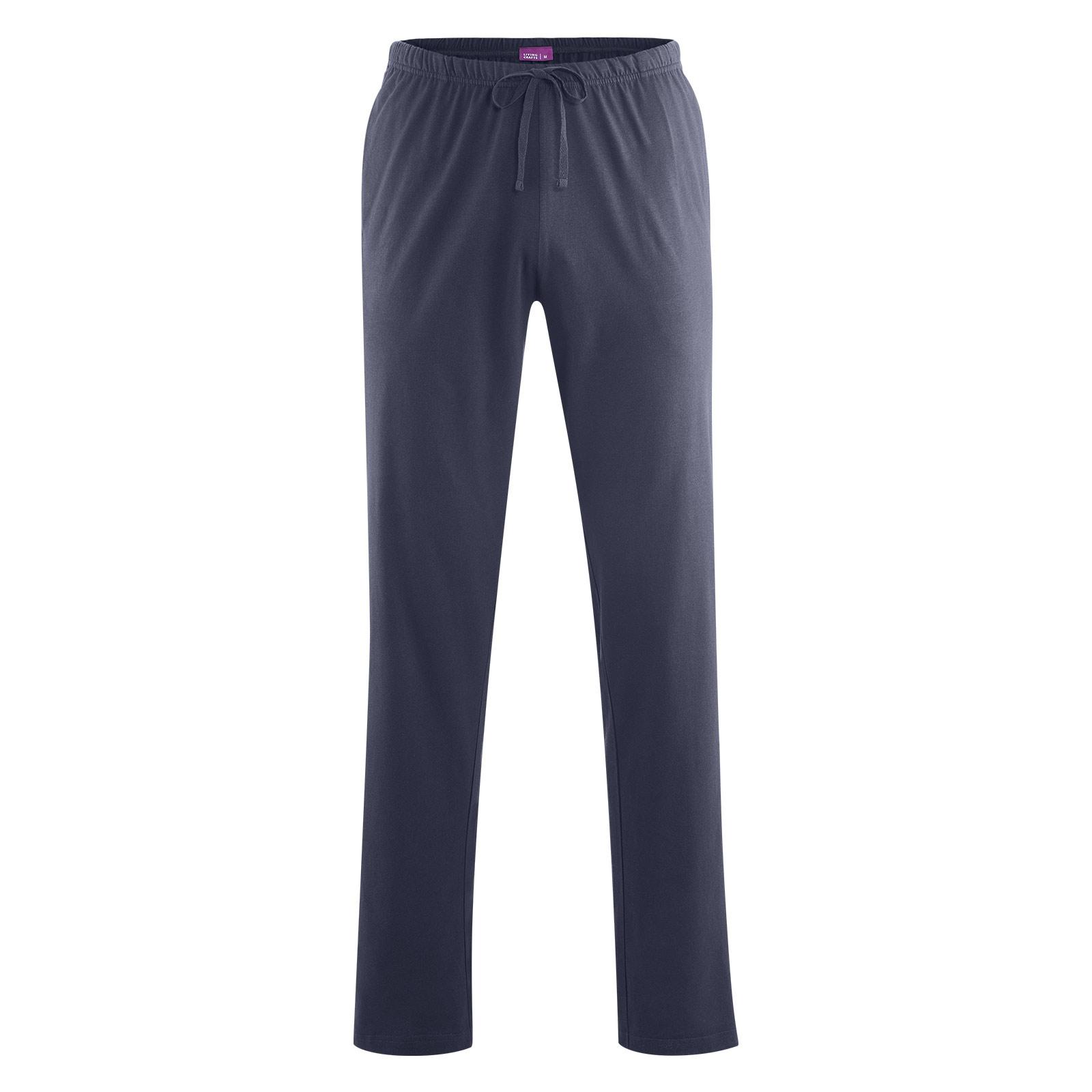 Living Crafts Jersey-Hose Herren aus veganer Bio-Baumwolle - PureNature 0ce9970bac