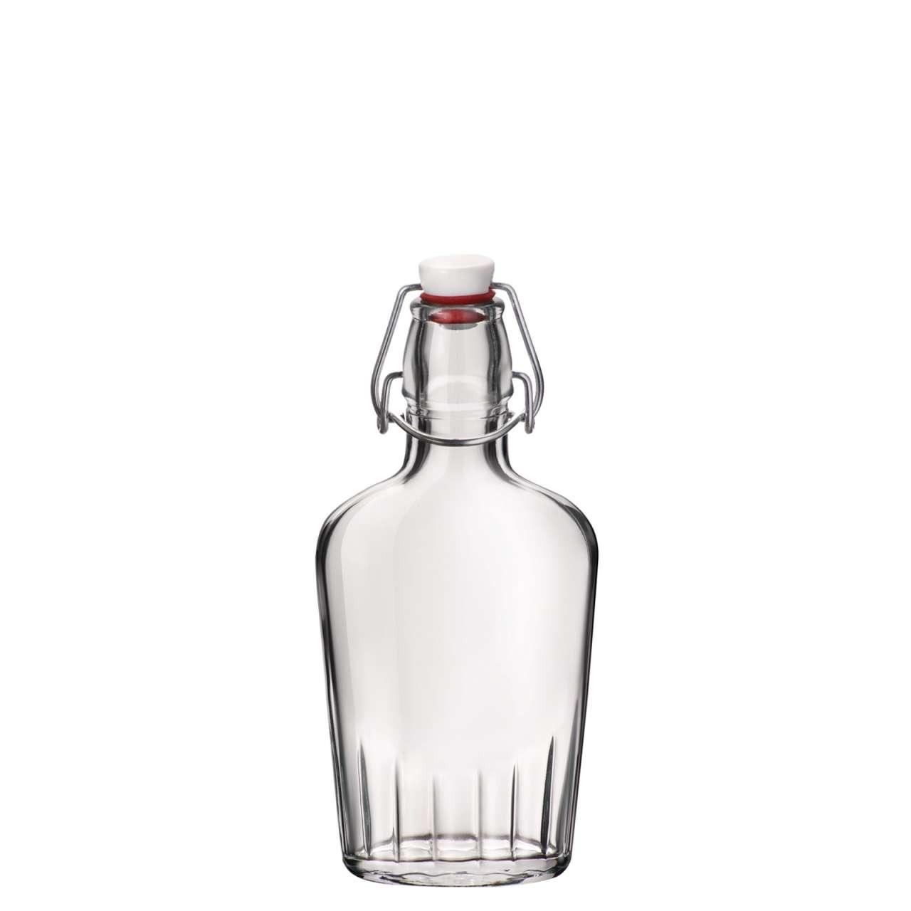 Kleine Flaschen mit Bügelverschluss - Fiaschetta Bügelflaschen