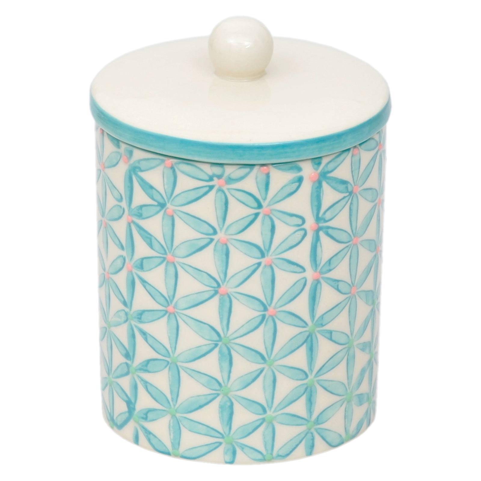 Tranquillo Keramik Aufbewahrungsdosen in trendigen Retro Design ...
