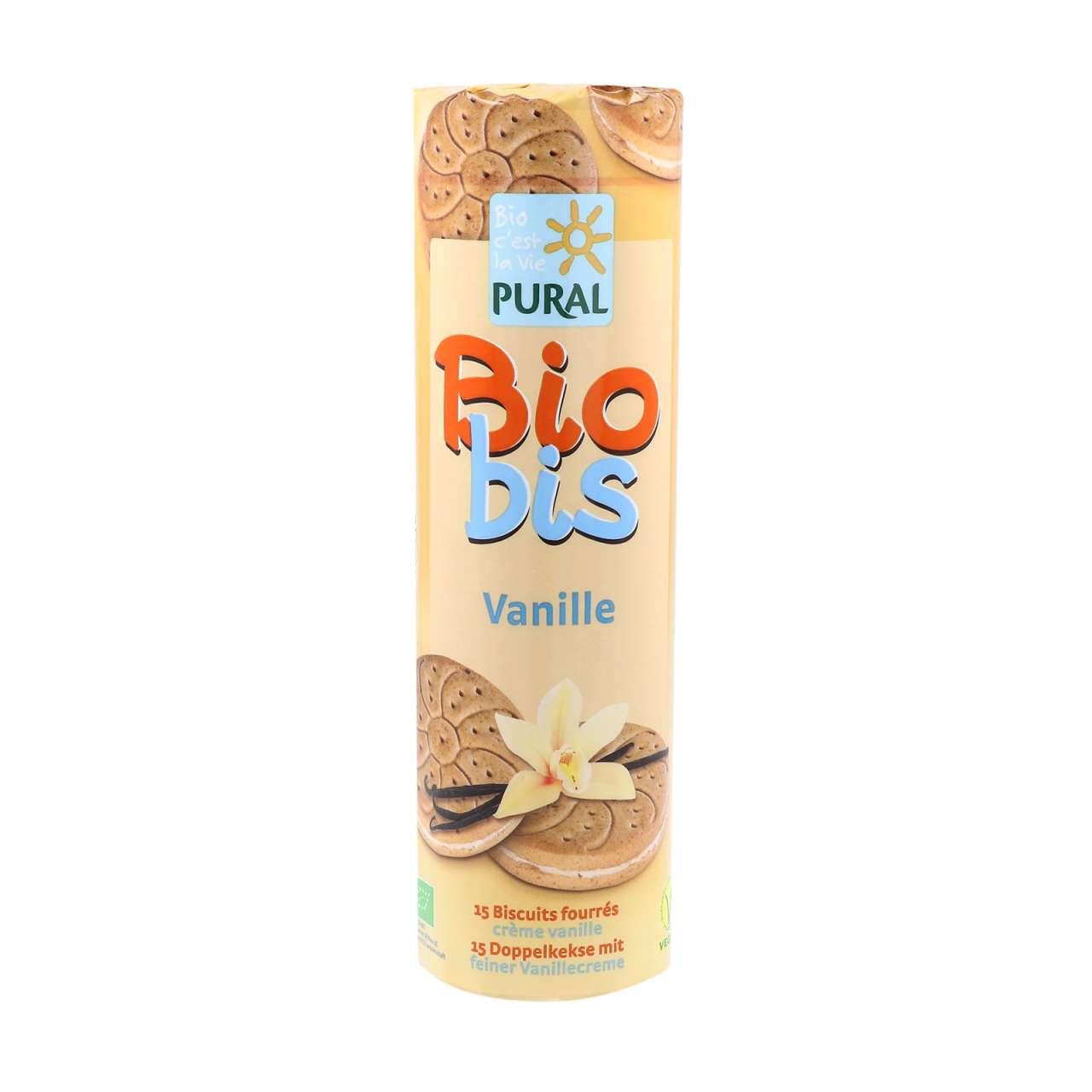 Angebotsbild für Bio Doppelkeks Rolle Vanille kaufen: ohne Ei & ohne Milch von PureNature