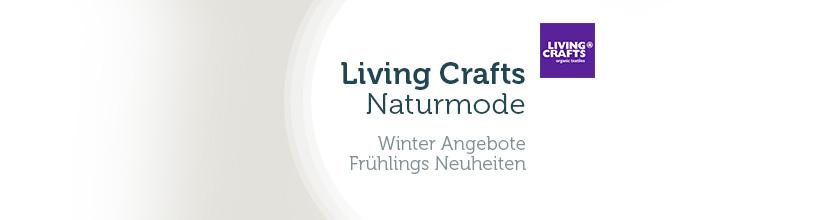 0b4a09e9107 Living Crafts Naturtextilien fair   sozial produziert - online kaufen -  PureNature