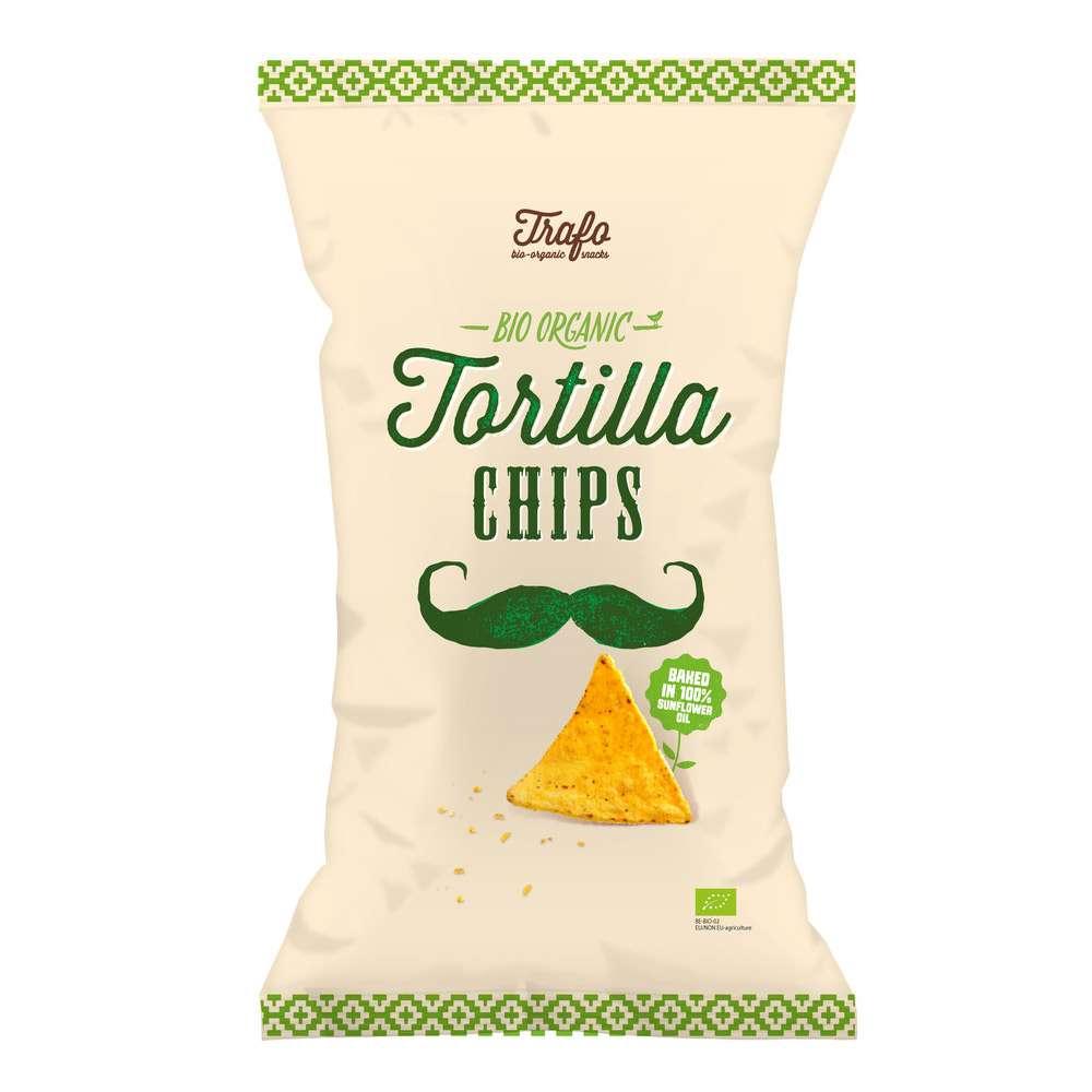 Tortilla Mais Chips glutenfrei, vegan zum Überbacken & Dippen