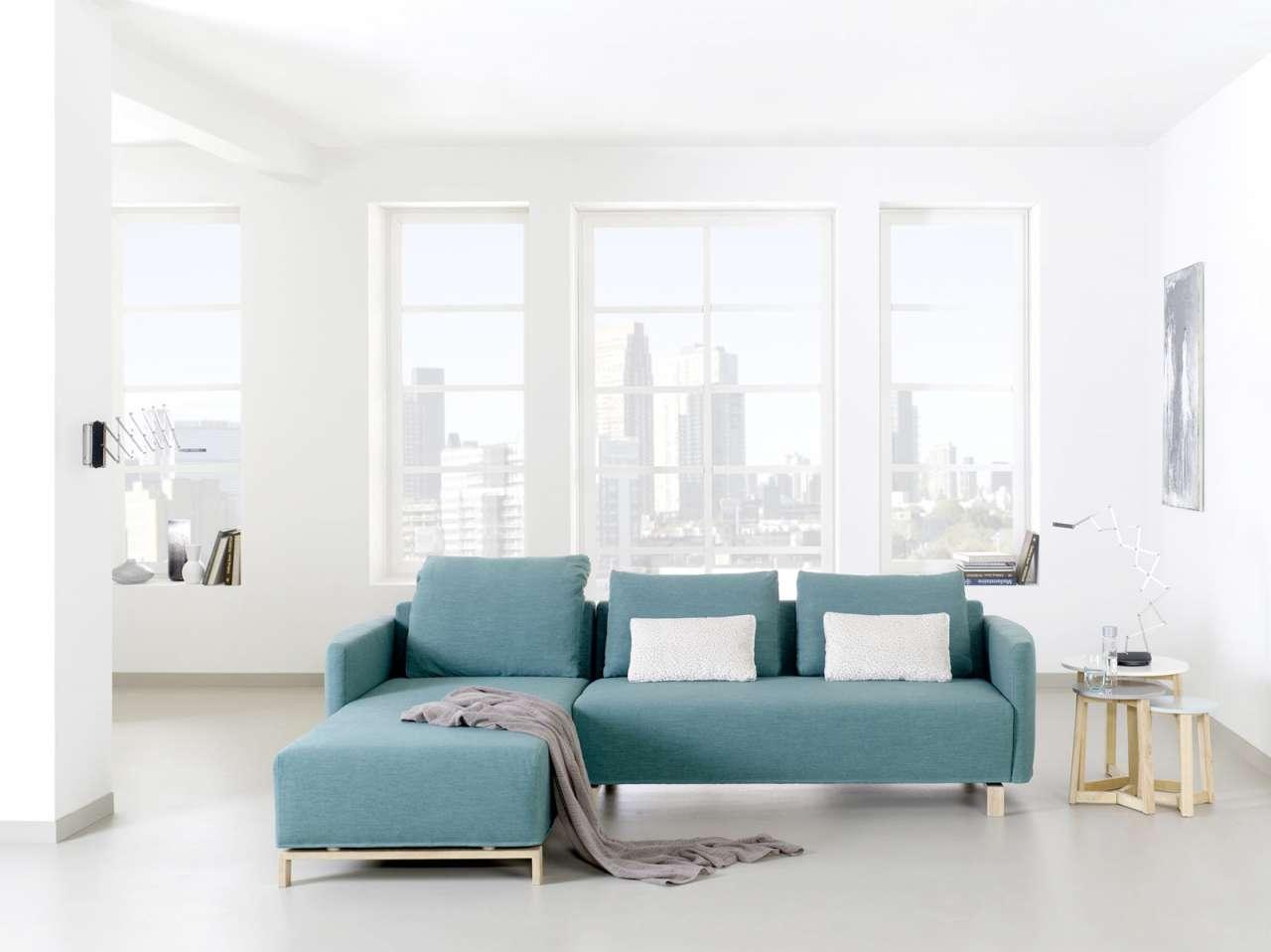 Empfehlung: Modernes Öko Sofa mit Recamiere  von PureNature DE*