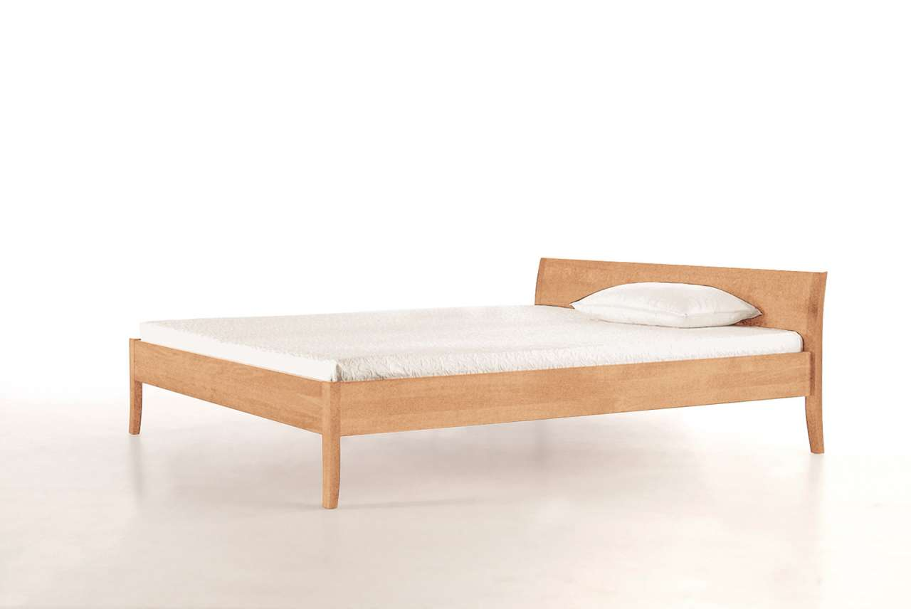Coburger Werkstätten Bett Cama Aus Massivholz   Niedriges Kopfteil    PureNature