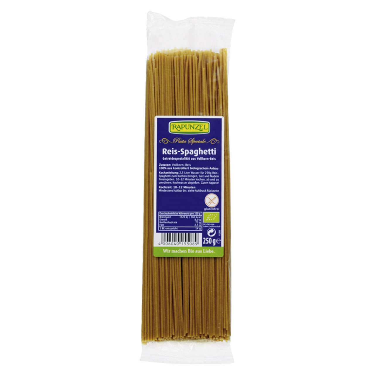 Angebotsbild für Reis Spaghetti: Feine glutenfreie Spaghetti-Gerichte kochen von PureNature