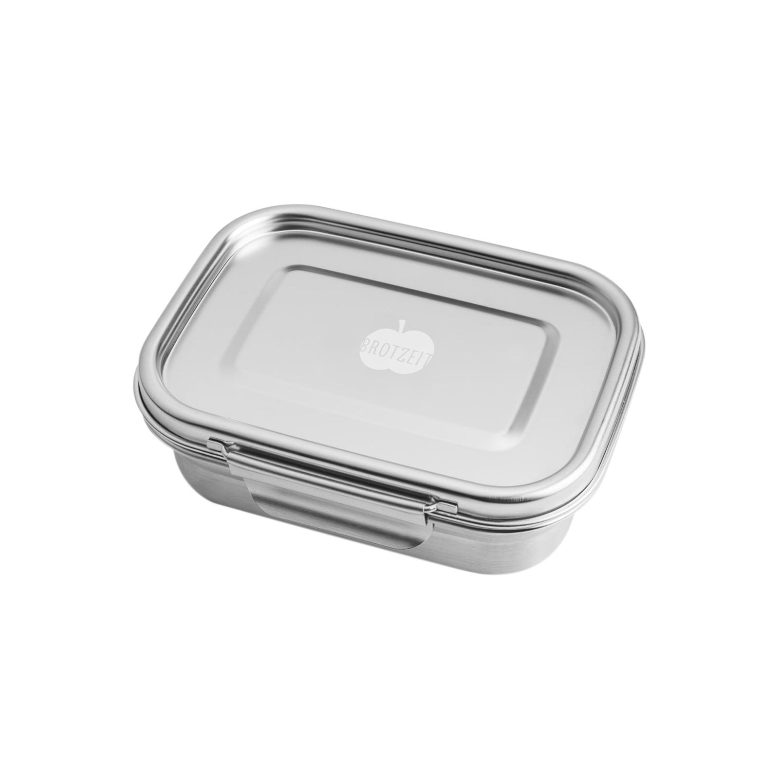 Edelstahl Brotdose, auslaufsicher, ohne Weichmacher, bleifrei