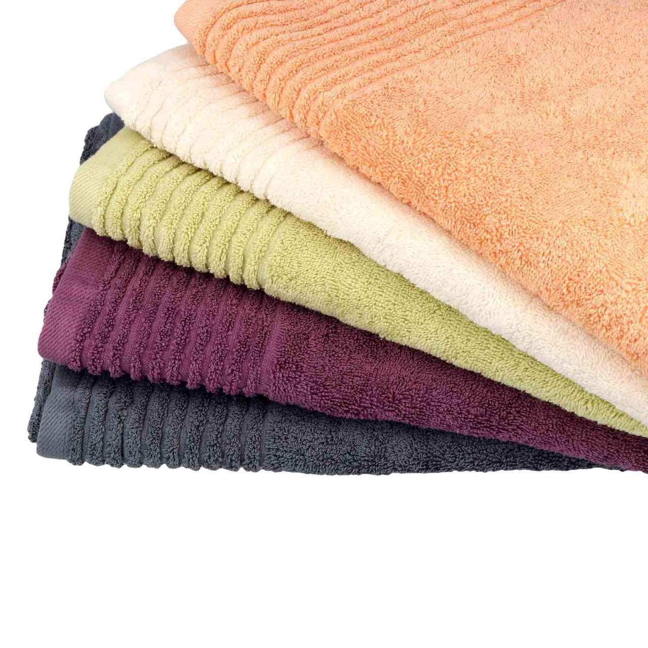 Walkfrottier Handtuch aus Bio-Baumwolle, kuschelig und flauschig