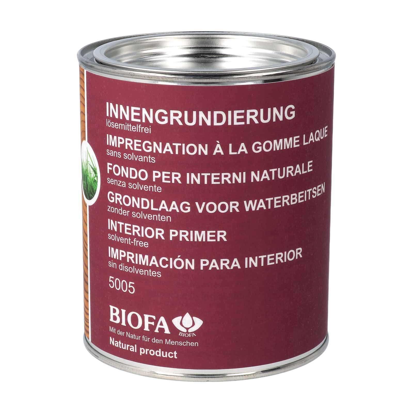 biofa holzgrundierung innen: holz grundieren vor lackieren - purenature