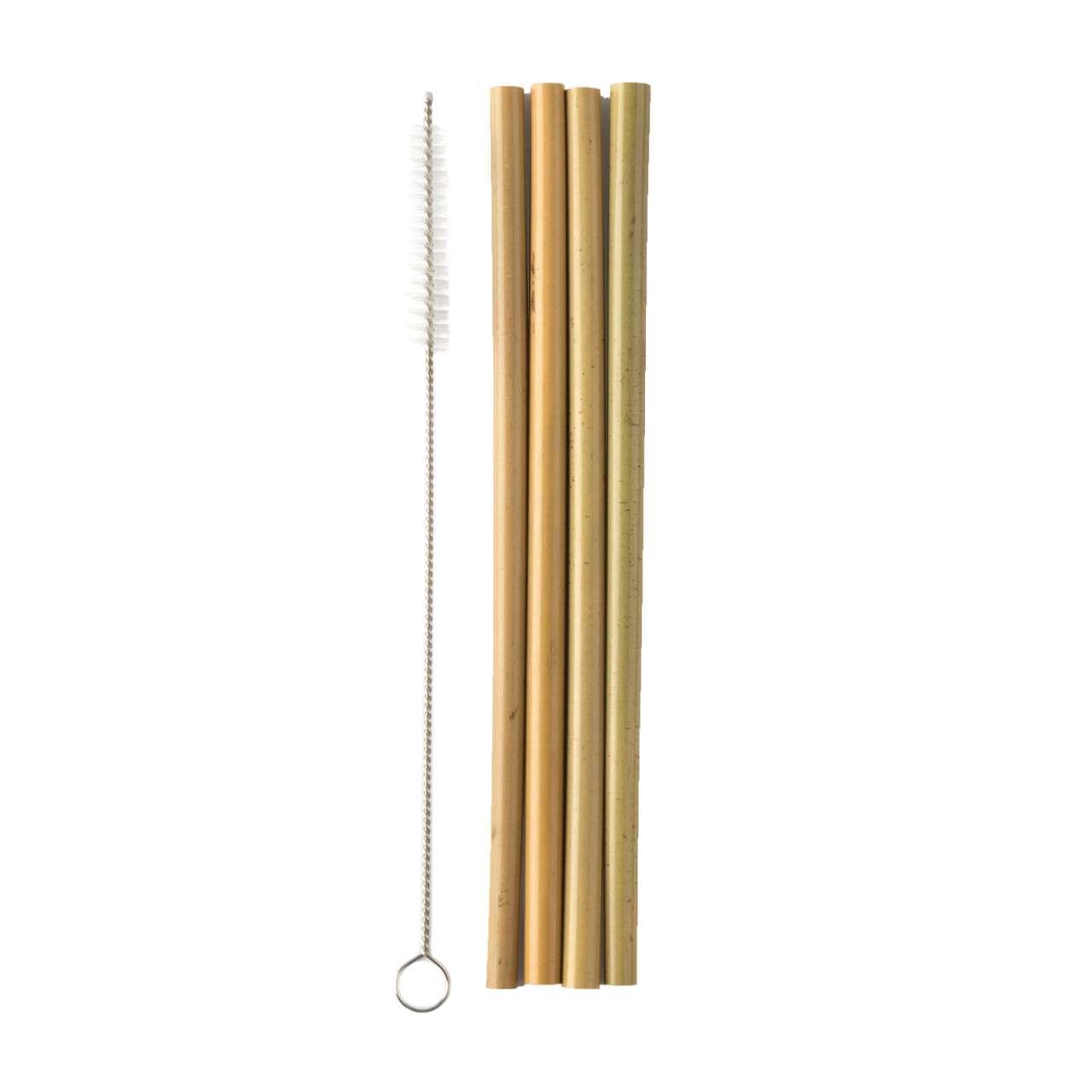 Humble Trinkhalme aus Bambus - wiederverwendbar & plastikfrei