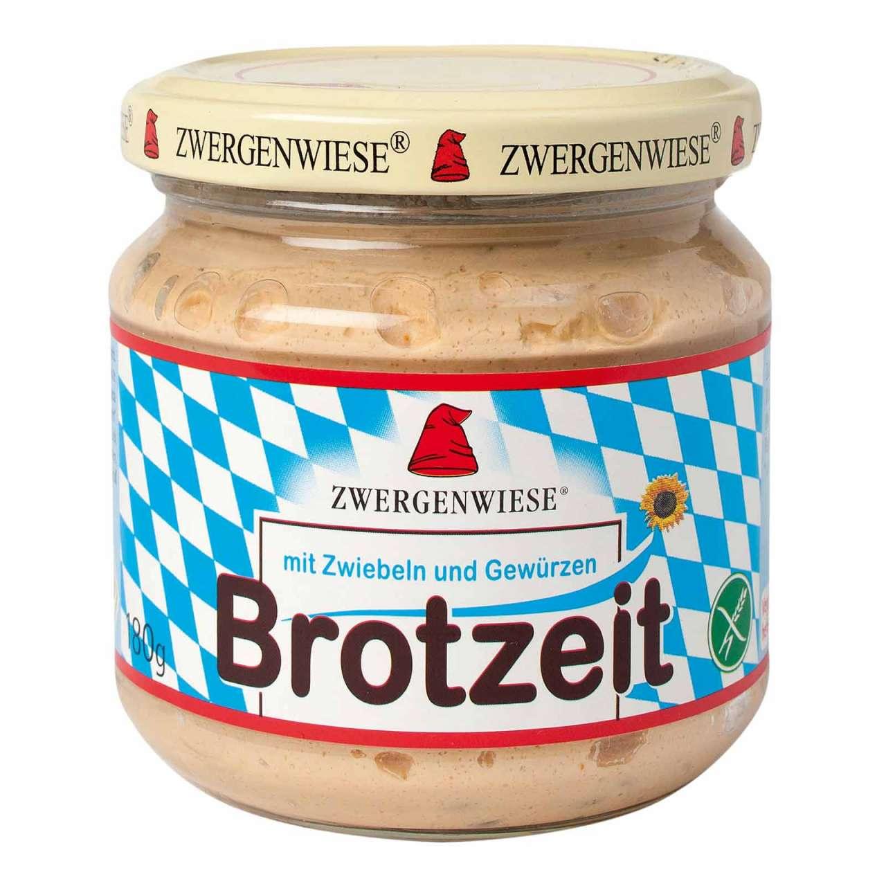 Angebotsbild für Zwergenwiese Brotzeit - herzhafter Brotaufstrich ohne Palmöl von PureNature