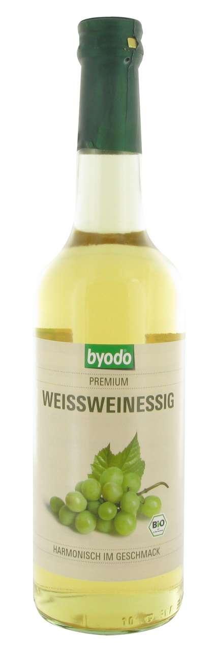 Bio Weißweinessig kaufen, ideal für leichte Sommersalate