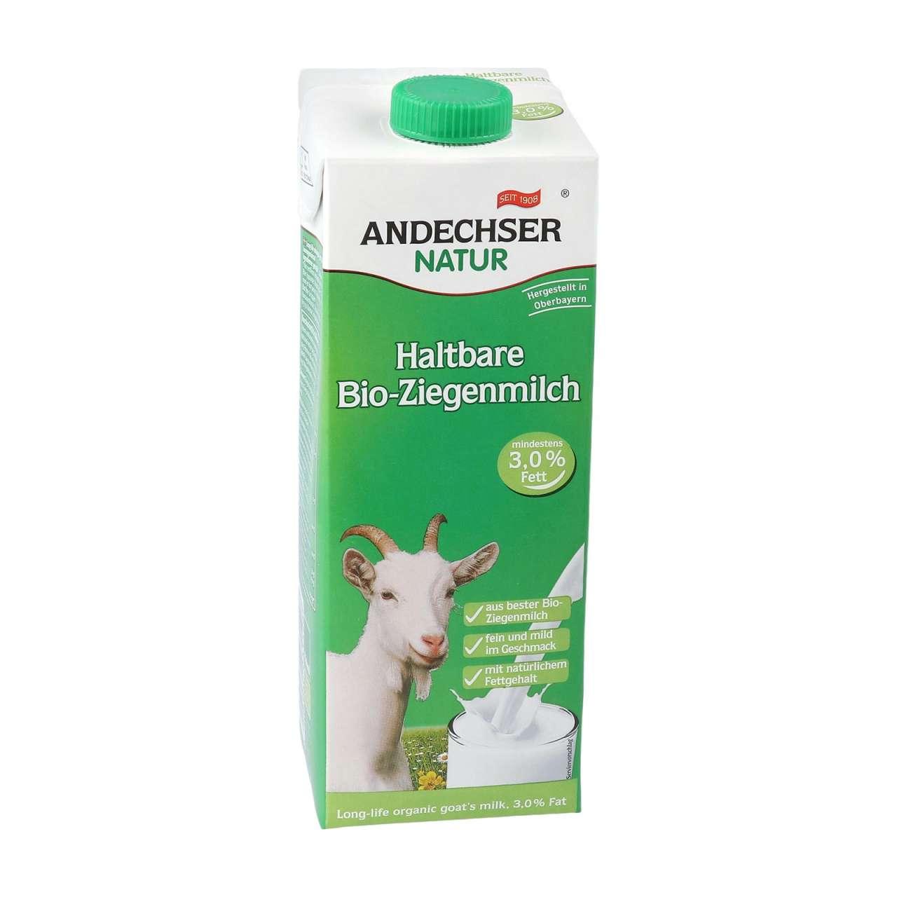Bild für Haltbare Bio Ziegenmilch - köstlich & mit natürlichem Fettgehalt