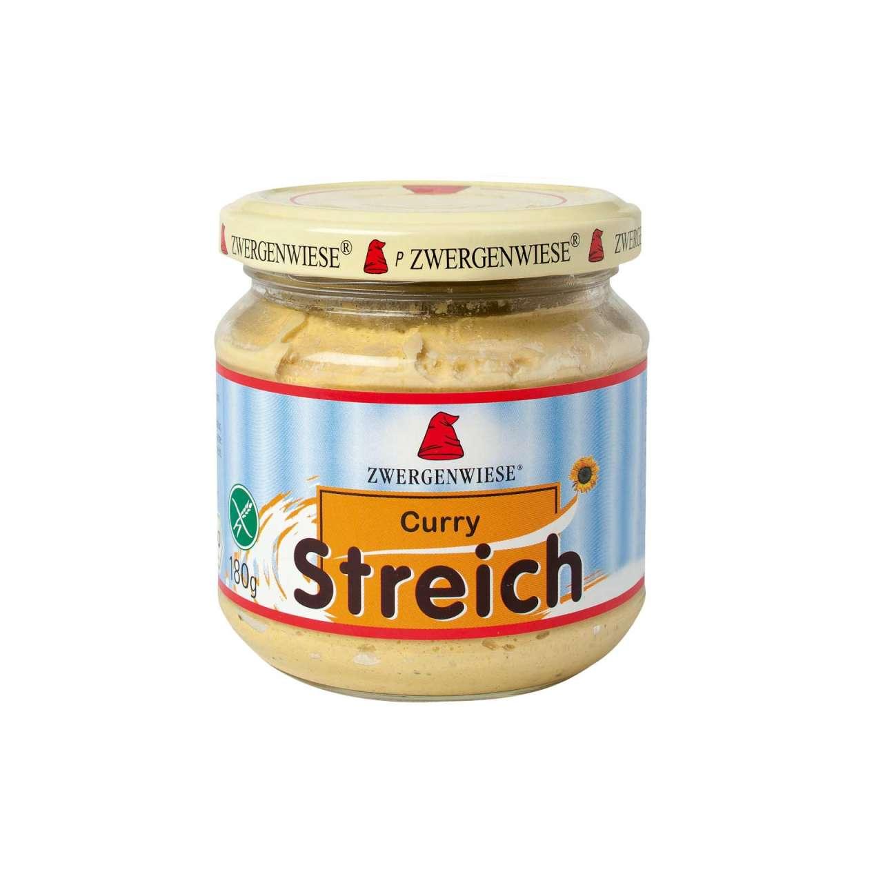 Angebotsbild für Streich Curry Aufstrich vegan von Zwergenwiese online kaufen von PureNature