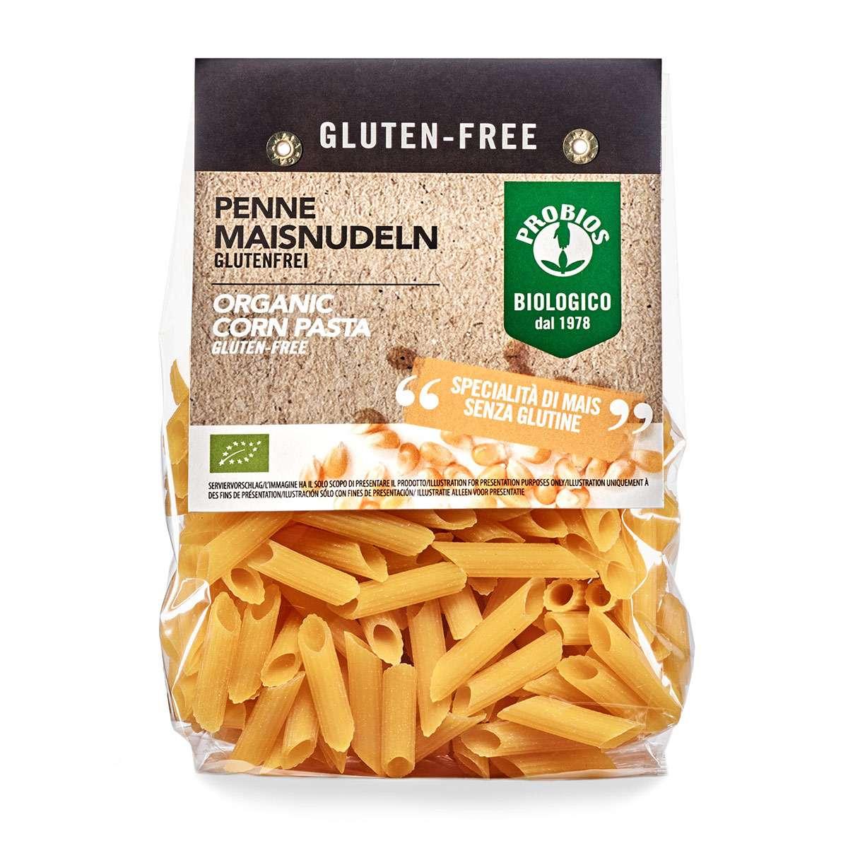 Probios Mais Nudeln - glutenfreie Penne aus Italien