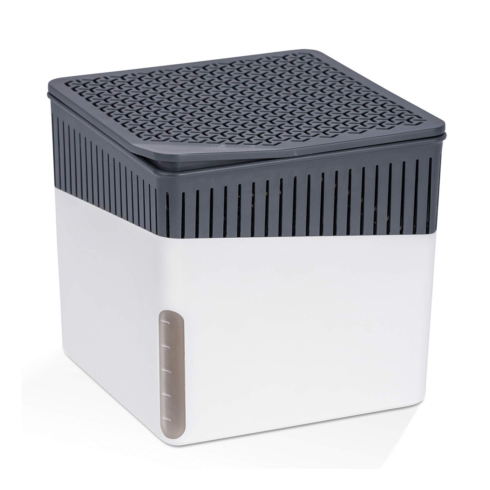 kleiner luftentfeuchter 500g cube ohne strom f r r ume bis 40 m purenature. Black Bedroom Furniture Sets. Home Design Ideas
