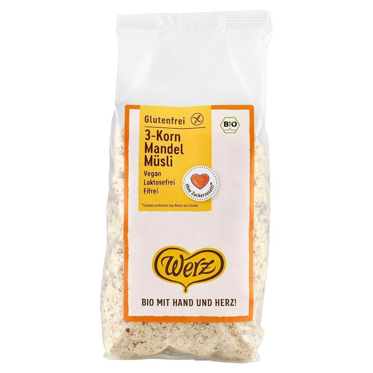 Bild für 3-Korn Müsli glutenfrei für Kinder und Erwachsenen kaufen