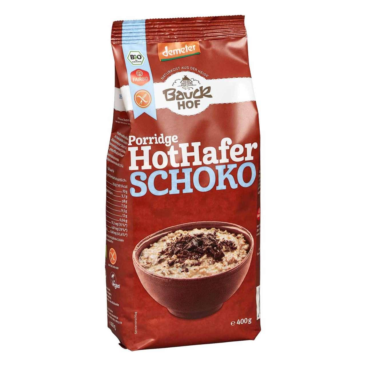 Angebotsbild für Bauckhof Hot Hafer Schoko - Demeter Haferbrei glutenfrei von PureNature