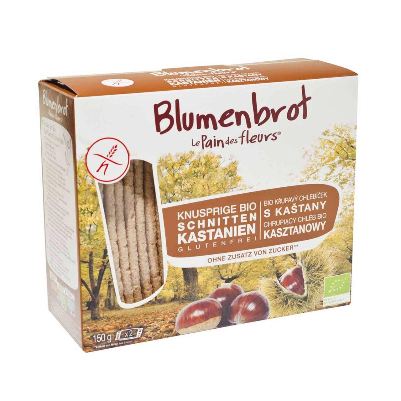 Angebotsbild für Blumenbrot Kastanie: Knuspriges, glutenfreies Brot ohne Hefe von PureNature