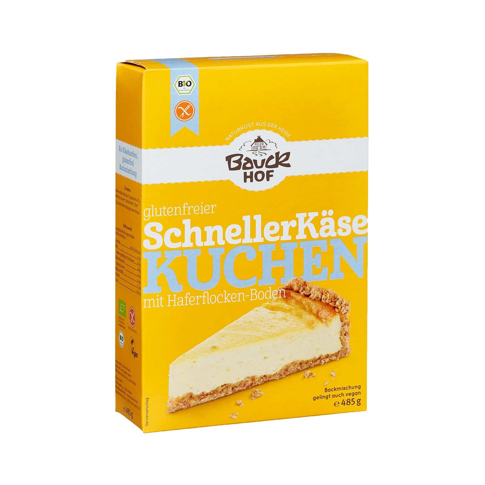 Käsekuchen Backmischung glutenfrei für herrlich saftigen Kuchen ...